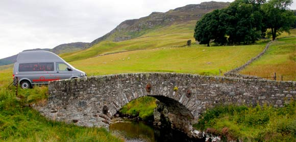 Scotland February road trip