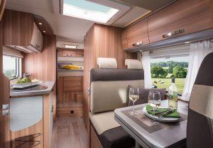 Bunk Campers | Aero Plus Interior 1