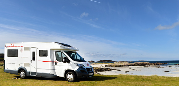 Scotland's North Coast 500 by motorhome