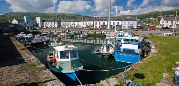 Carnlough Fishing Village
