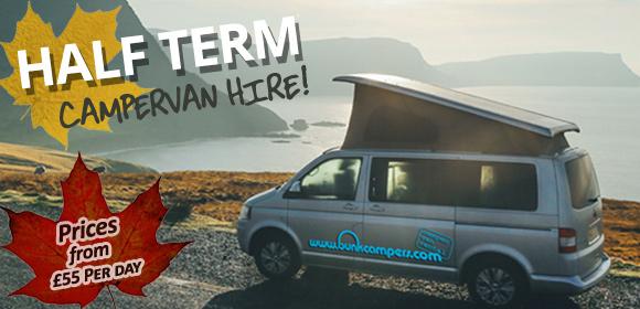 half-term Campervan Holidays