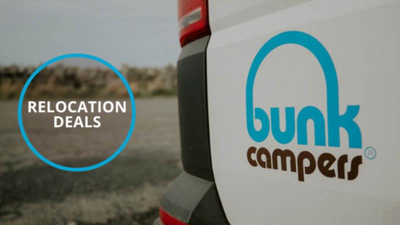 Campervan relocations