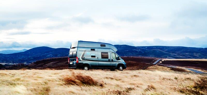Location de camping-cars en Ecosse