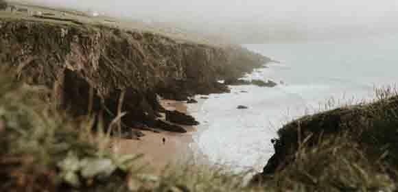 Beach and Fog