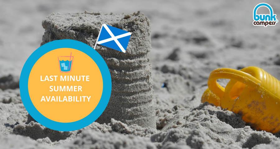 Summer Availability 2018 Scotland