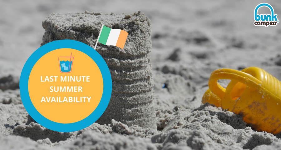 Summer Availability 2018 Ireland