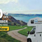 20% Off September motorhome hire