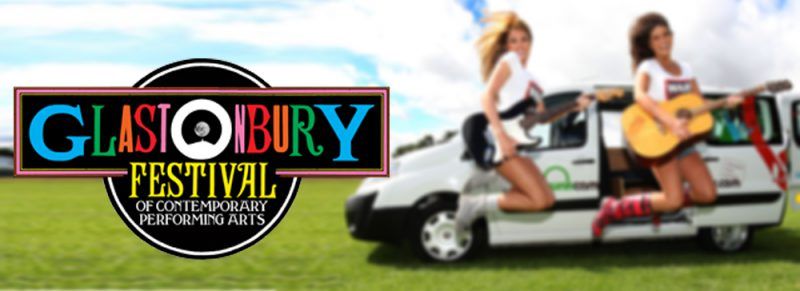 Glastonbury campervan hire