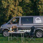 Roadie winter campervan image