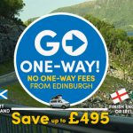 no one-way fees from Edinburgh