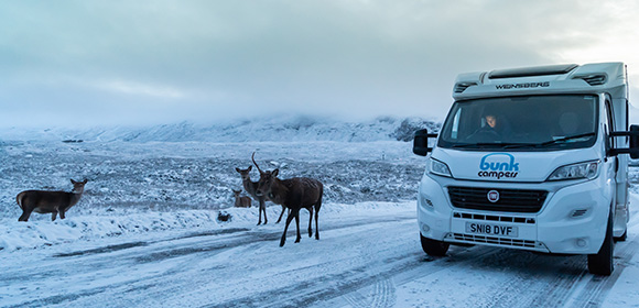 winter campervan hire 2