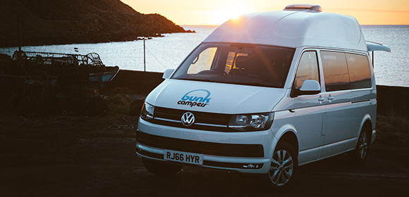 winter campervan hire ranger