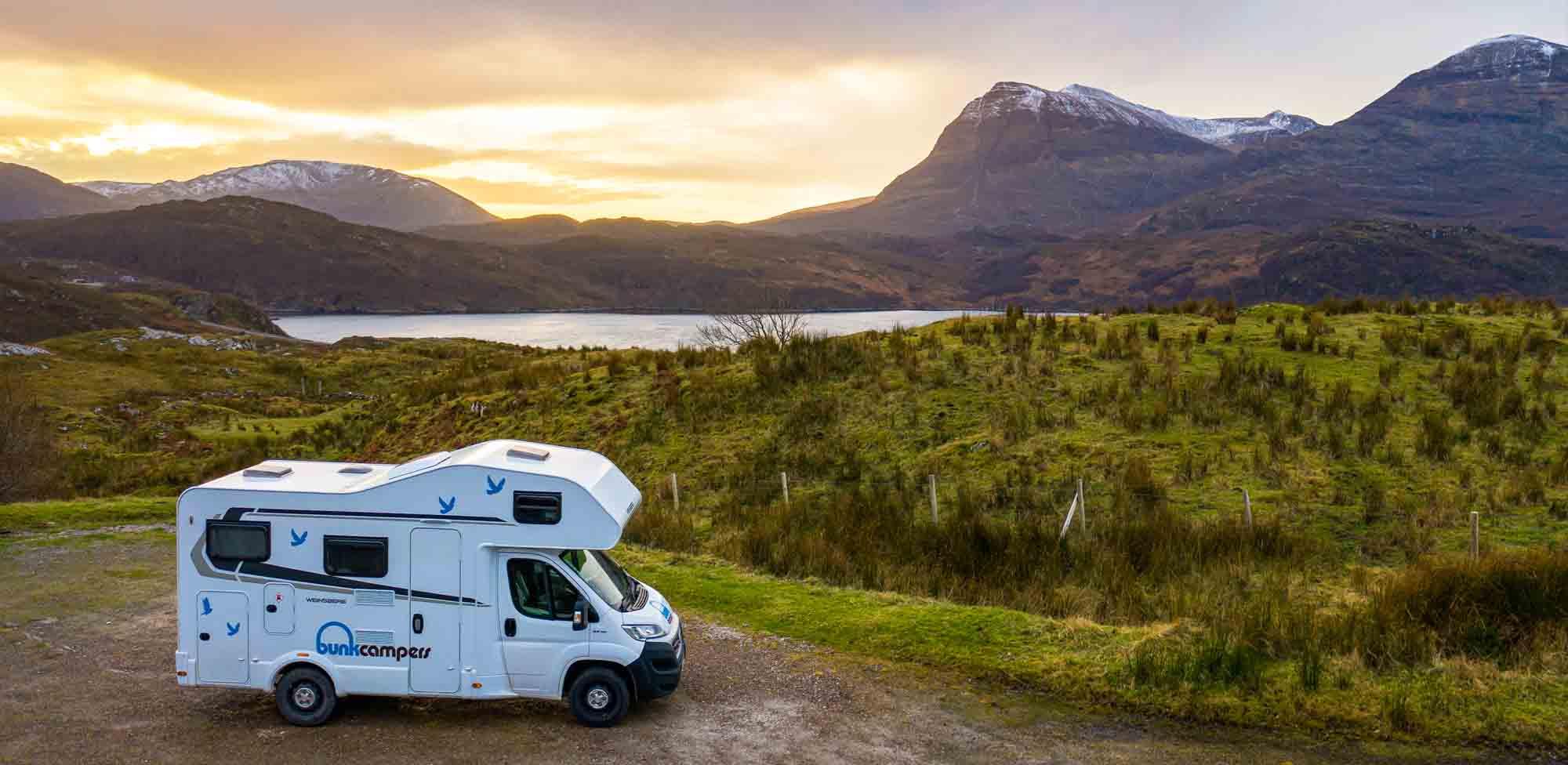 Scotland campervans