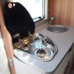 CaraHome 600DKG- Gas Hob & Sink