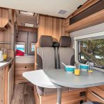 CaraBus 601DQ- living area