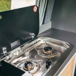Ranger gas hob for cooking
