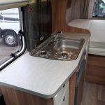 CaraBus 541MQ- Hob & Sink
