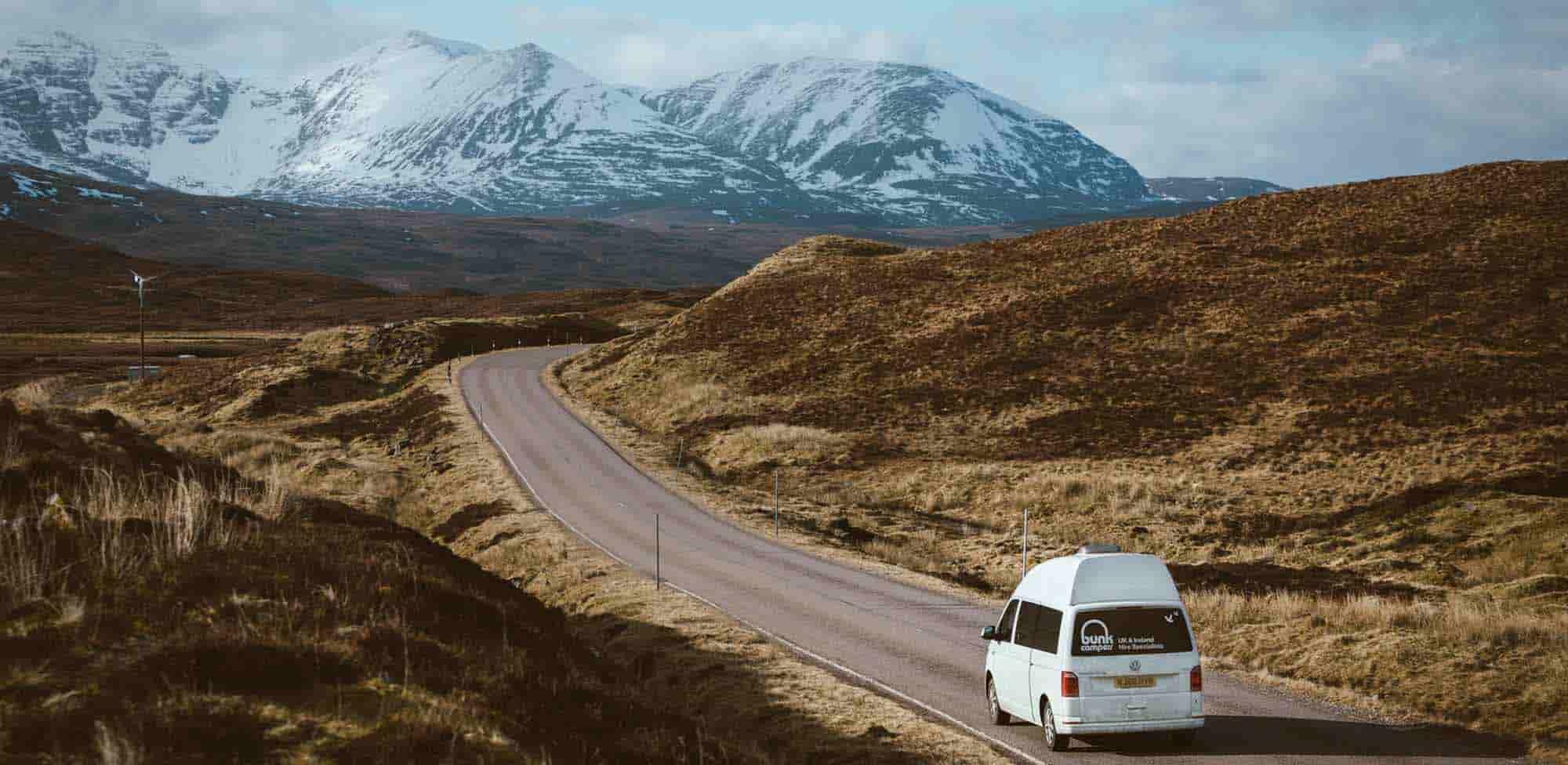 scotland campervan