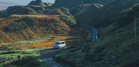 Highlands by Campervan