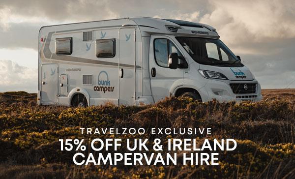 TravelZoo 15% OFF UK & Ireland Promo