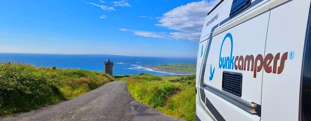 Where can I go on my Ireland Campervan Holiday