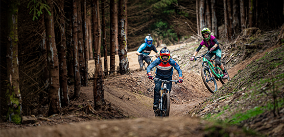 """Thrill seekers tackle mountain biking at """"The Gap"""""""