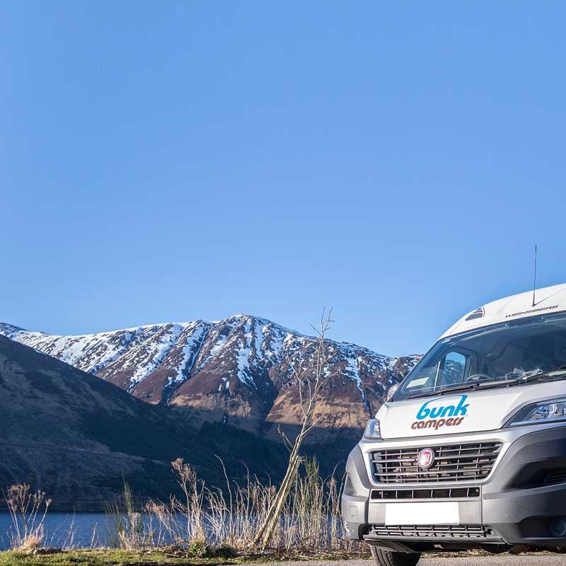 winter campervan hire mobile